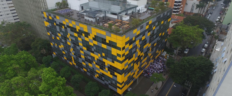 Las oficinas de Nubank en San Pablo, Brasil