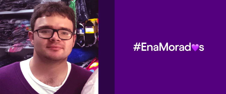 #EnaMorados de Nu. Santiago Duque fue el primero en usar ese término en las redes sociales